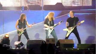 Metallica • Helpless with Anthrax & Megadeth live 02.07.2011 Germany