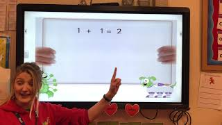 '1 More Than' Big Maths Reception