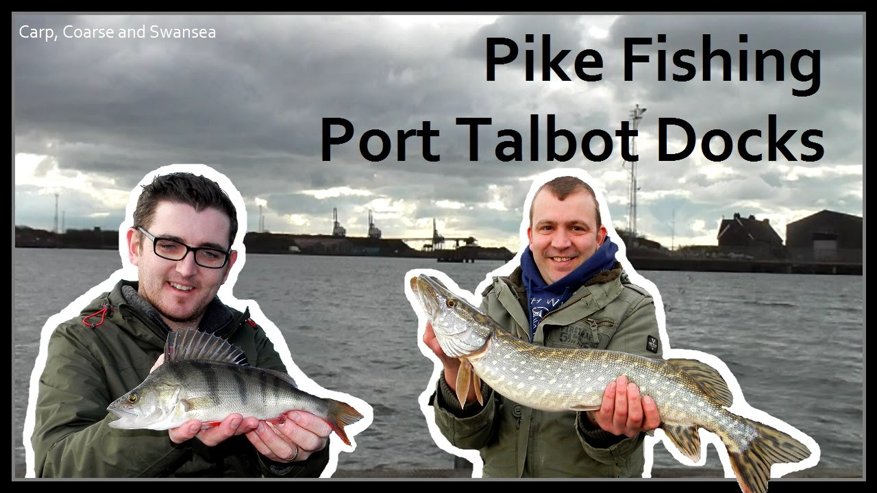 Pike Fishing - Port Talbot Docks. Carp, Coarse and Swansea Video 135
