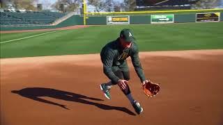 Third base with Matt Chapman