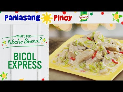 How to Cook Bicol Express – Panlasang Pinoy