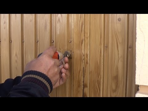 Abrir cerradura en 20 segundos con DANIU