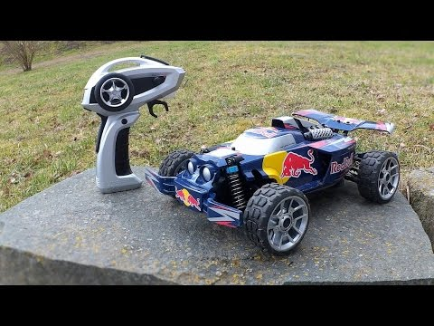 Carrera Profi RC RED BULL NX2 - 1/18 High Speed RC Car // Testbericht & Testfahrt
