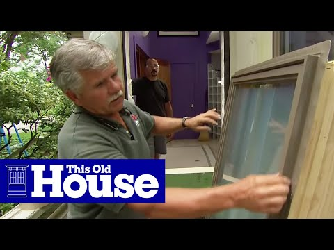 How to Replace a Door With a Window | This Old House