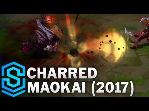 Charred Maokai (2017) Skin Spotlight - League of Legends