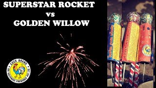 SuperStar Rocket vs Golden WIllow Rocket vs Lunik Express - Cock Brand