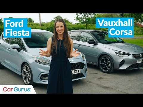 Ford Fiesta vs Vauxhall Corsa: 2021's supermini grudge match | CarGurus UK