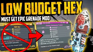 Borderlands 3: AMAZING LOW BUDGET HEX - The Cloning Maddening Tracker Greande - Must Get - Review