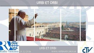 Urbi et Orbi: Een Kind is ons geboren