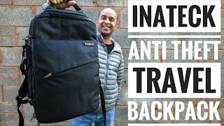 Inateck Anti Theft Travel Backpack