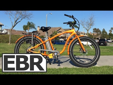 E-Lux Tahoe Video Review – Cruiser Fat Tire Electric Bike