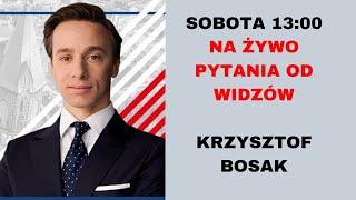 Krzysztof Bosak – kandydat na Prezydenta RP – na żywo