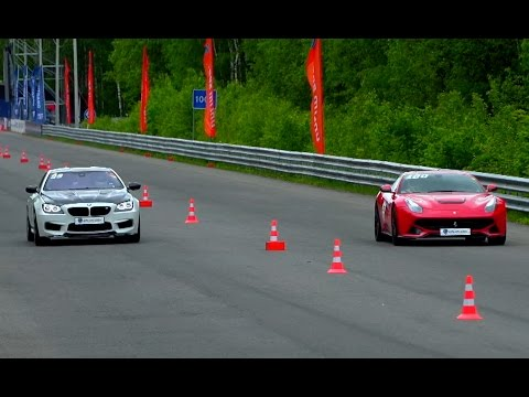 BMW M6 vs Ferrari F12 Berlinetta vs BMW M4 vs Audi S6