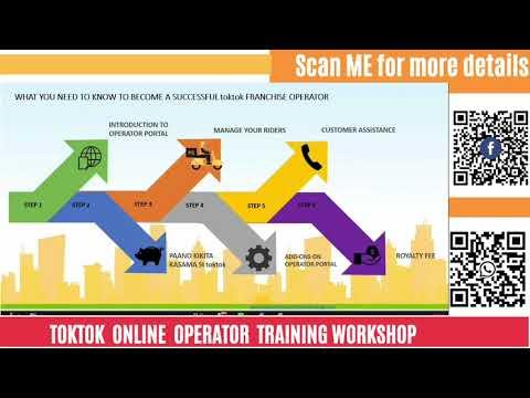 TokTok Online Franchise Operator Technical Training - YouTube