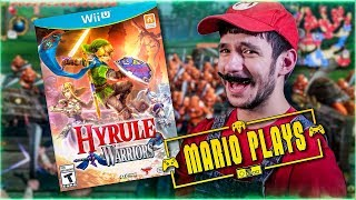 MARIO PLAYS HYRULE WARRIORS