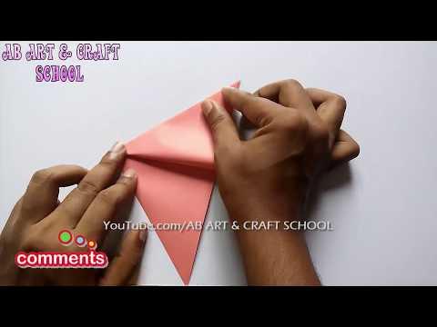 Easy Paper Cutting Craft Design Ab Art Craft School Video
