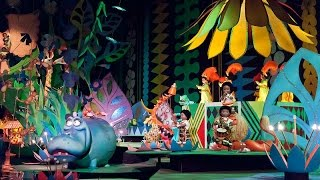 It's A Small World Complete Experience HD Magic Kingdom Walt Disney World