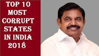 Top 10 most corrupt states in India 2018