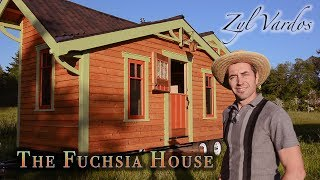 Nailing The Craftsman Style - Fuchsia Tiny House Tour - By Zyl Vardos
