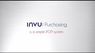 Product animation for INVU Purchasing's POP software system.