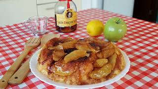 Pastel  de manzana sin horno ¡¡ no te lo pierdas || cocina con rock
