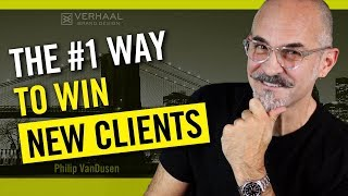 The #1 Way To Win New Clients - How To Ask the Right Questions and Win New Business