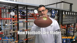 How Footballs are Made for the NFL (With Steam!)