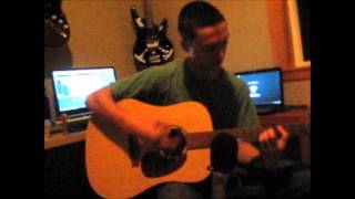 12 stones - broken road acoustic cover by chris marino