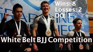 BJJ White Belt Competition - How I won my first competition (with commentary)