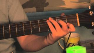 How to play - One by: U2 On guitar