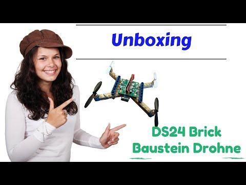 DS24 Brick Baustein Drohne - Anfänger Copter