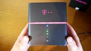 T-Mobile HomeNet Box Huawei B529s Unboxing Und Kurzer Test