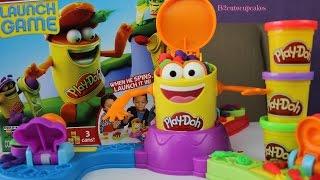 Play Doh Launch Game | Play Doh Games N Toys|Tuesday PlayDoh|B2cutecupcakes
