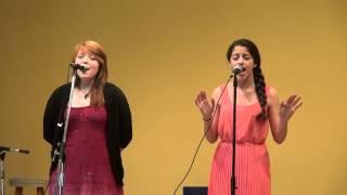 Ashley Cucchiara with Rebekah Perry singing Roads by Chris Mann