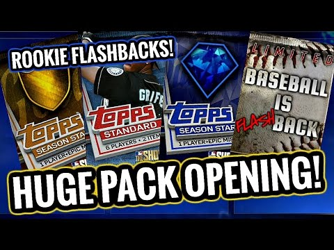 DAY 1 PACK OPENING!! BASEBALL IS