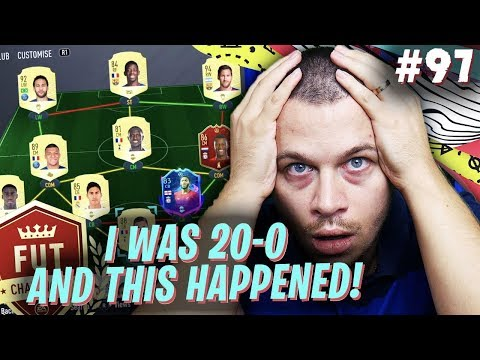 FIFA 20 YOU WON'T BELIEVE WHAT HAPPENED TO MY UNBEATEN FUT CHAMPIONS PERFORMANCE in ULTIMATE TEAM!