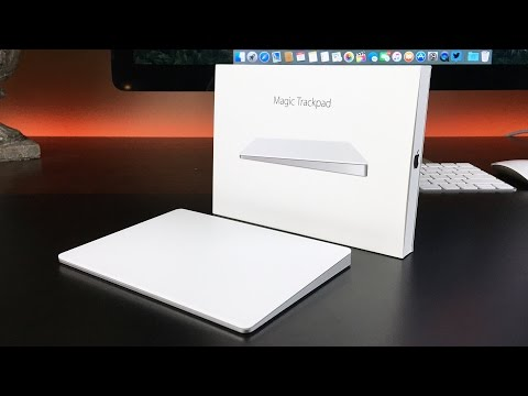 Обзор Apple Magic Trackpad 2 (white, Bluetooth, MJ2R2ZM/A)