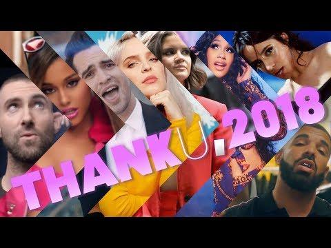 THANK U, 2018 | Year End 2018 Megamix (150+ Songs)