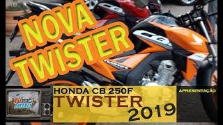 Andamos Na Honda Twister 2019 - CB 250F Com ABS E Com CBS