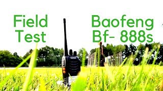 Boafeng Bf-888s Field Testing. What Is The Rang?