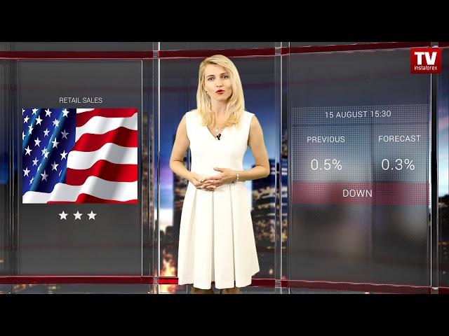 InstaForex tv calendar. Trader's calendar August 13 - 15