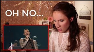 Vocal Coach REACTS to MAROON 5 PEPSI SUPER BOWL LIII Halftime Show