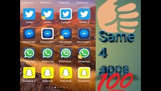 How to use/install 2,3,4 same apps in one android phone