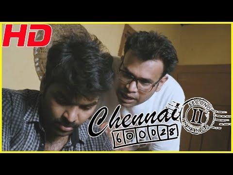 Chennai 600028 II Comedy | Tamil full movie comedy scenes |Jai & Premji comedy | Mirchi Shiva comedy