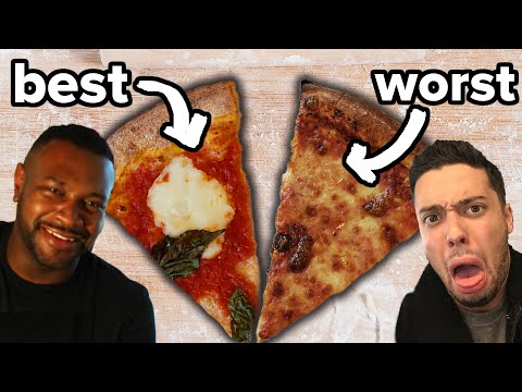 Worst Reviewed Vs. Best Reviewed Pizza