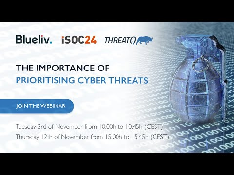 The importance of Prioritizing Cyber Threats!