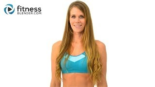 15 Minute Cardio and Total Body Toning Boot Camp Workout - Quick Sweat Bodyweight Cardio Workout by FitnessBlender