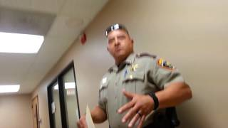 Kicked Out Of Sheriff's Office Making a Police Complaint