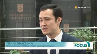 Goals of millennium under discussion in Kazakhstan (Kazakh TV)
