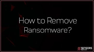 How to Remove a Ransomware Virus (Windows)
